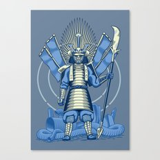 Samurai Nightmare Canvas Print