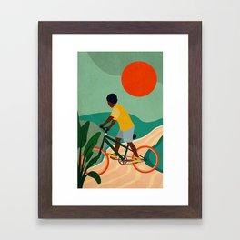 Stay Home No. 7 Framed Art Print