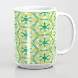 Kaleidoscope Extreme Mint Coffee Mug