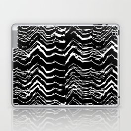 Dark Glitch Abstract Pattern Laptop & iPad Skin