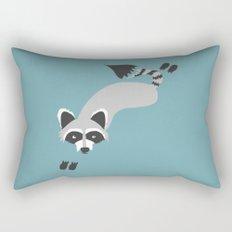 Robby Raccoon Rectangular Pillow