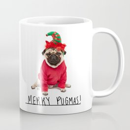 Merry Pugmas 3 Coffee Mug