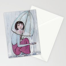 reaching out from within Stationery Cards