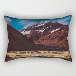 South Island Glacier Rectangular Pillow