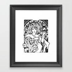 Time Passes Framed Art Print