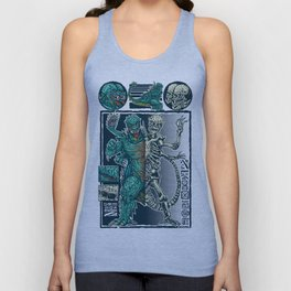 Kaiju Monster Unisex Tank Top