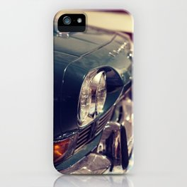 classic 1970s car showroom iPhone Case