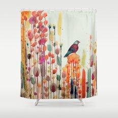joie de vivre Shower Curtain