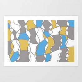 ARleQuin01 Art Print