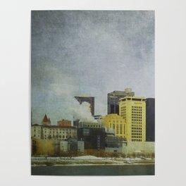 St. Paul Riverfront Poster