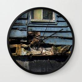 Amsterdamned Blue Wall Clock