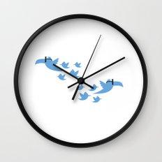 social birds Wall Clock