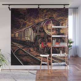 Steam Abstraction Wall Mural