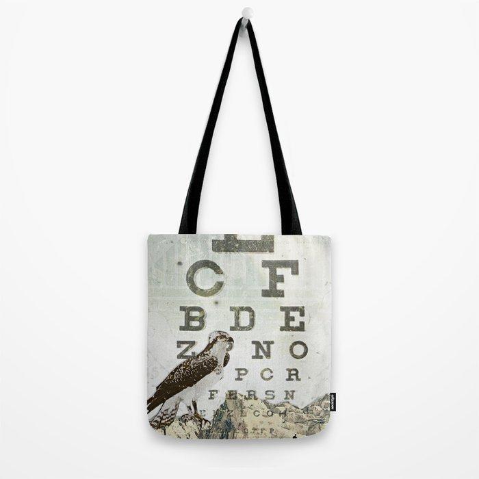 eye chart II Tote Bag