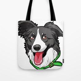 Border Collie Elo Dog Puppy Doggie Tote Bag