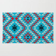 Geometric tribal pattern Rug
