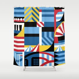 Coney Shower Curtain