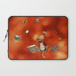 A French Maid Calamity - Funny Artwork Laptop Sleeve