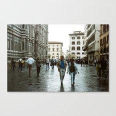 DUOMO VI- WALK BY Canvas Print