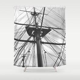 HMS Warrior II Shower Curtain