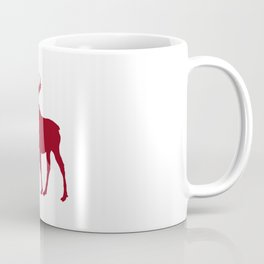 Moose: Rustic Red Coffee Mug
