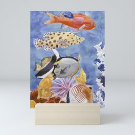 Tropical Fish 1 Mini Art Print