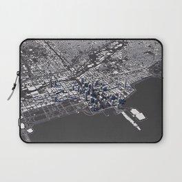Chicago City Map I Laptop Sleeve