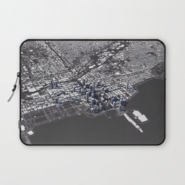 Chicago City Map I Laptop Sleeve