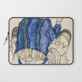 Seated Woman, Back View Laptop Sleeve