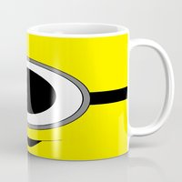 minion Mugs featuring Evil Minion by shannon's art space