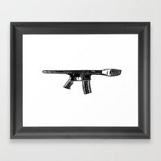 Art War Framed Art Print