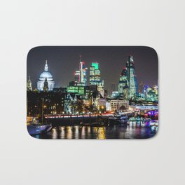 City of Lights Bath Mat