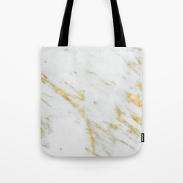 Treviso gold marble Tote Bag