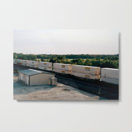 Only One Way Outta This Town Metal Print