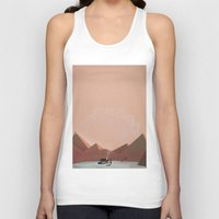 alone Tank Tops featuring alone by Amit Shimoni