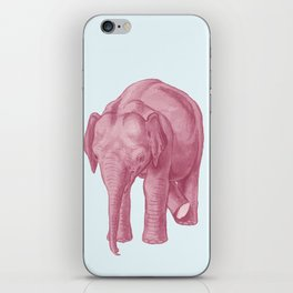 Pink elephants and the emperor of icecream iPhone Skin