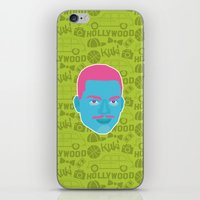 fresh prince iPhone & iPod Skins featuring Carlton - The fresh prince of Bel-Air by Kuki