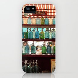 Antique Soda Bottles, San Telmo, Buenos Aires iPhone Case