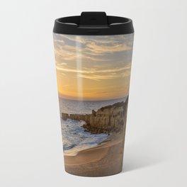 Algarve sunset, Portugal Travel Mug