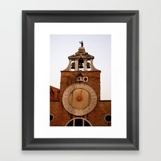 Tick Tock Framed Art Print