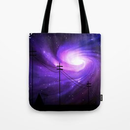 Mysterious Lights Tote Bag