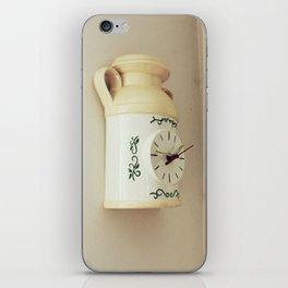 Clock iPhone Skin