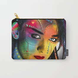 boy George portrait Carry-All Pouch