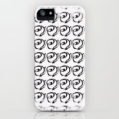 Rows of Flowers, Bright Slim Case iPhone (5, 5s)