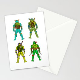 Superhero Butts - Turtles Stationery Cards