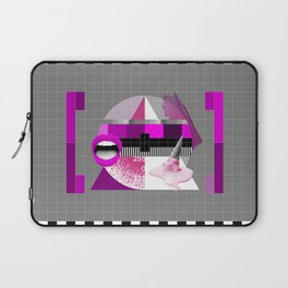 Waiting for the show to begin (Test Pattern 5) Laptop Sleeve