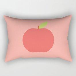 #65 Apple Rectangular Pillow