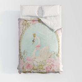 The shabby Swan Comforters