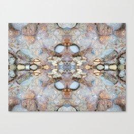 Blasting Creation (Mandala-esque #17b) Canvas Print
