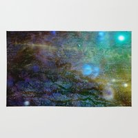 cosmic Area & Throw Rugs featuring Cosmic by Jay Taylor